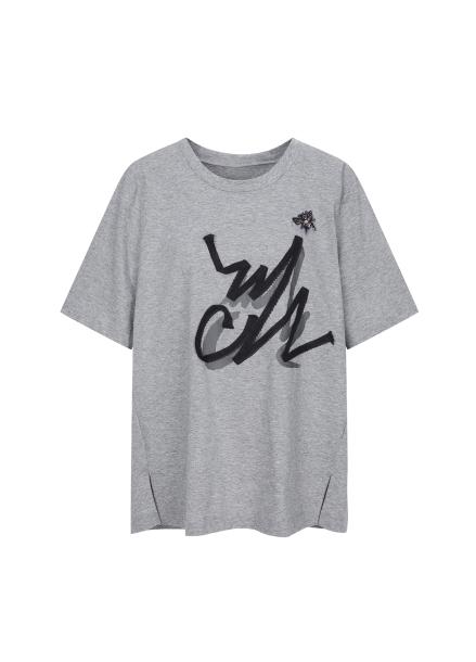 Cotton Trend Printing T-shirts