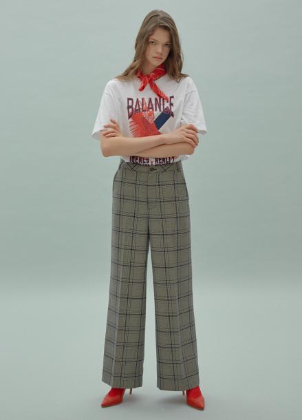 [SURREAL BUT NICE/5%쿠폰] Glen Check Pants