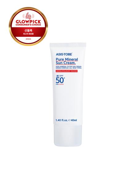 [20%할인/ASIS-TOBE] Pure Mineral SunCream 40ml