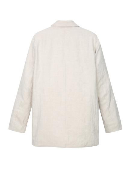 [균일가] Linen Tailor Collar Jacket