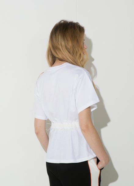 [시즌오프 10%할인/ATICLE]String Point T-Shirt (White)