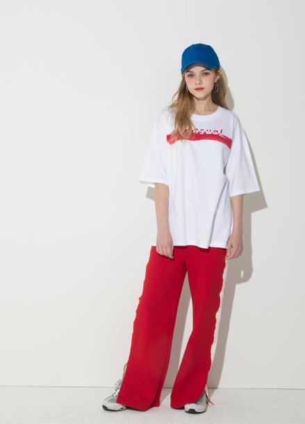 [시즌오프 10%할인/ATICLE]String Point T-Shirt (Black)
