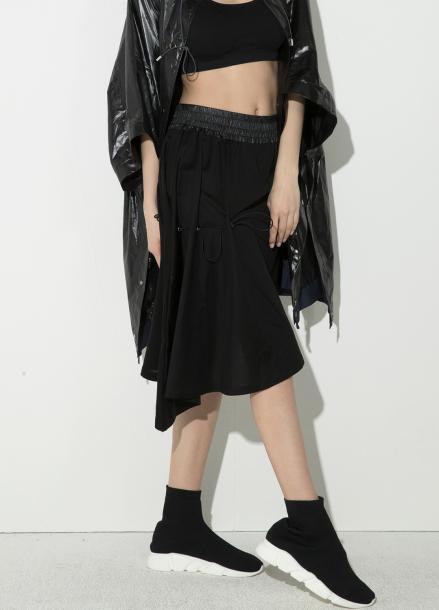 [시즌오프 5%할인/ATICLE]String unbalance skirt