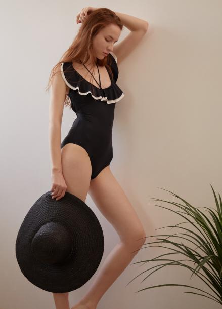 [신상 5%쿠폰/GIANNA]Modern Frill Swimwear