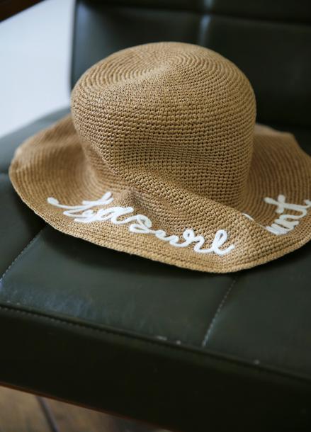 [5%할인+5%쿠폰/SALON DE YOHN]Raffia Hat_2 Colors (White, Blue)