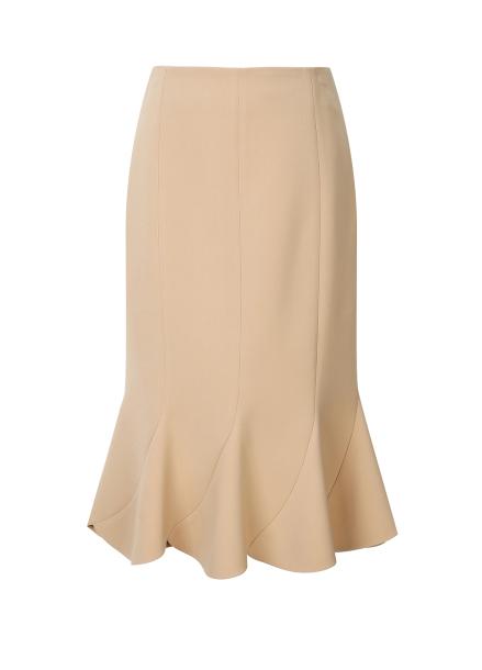 Ruffle Peplum Skirt