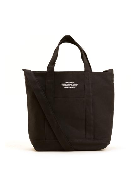 [IHATEMONDAY/12%할인+5%쿠폰] Weekday Bag_Black
