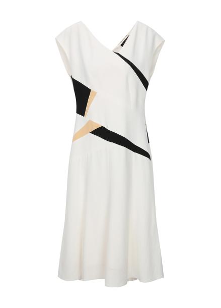 Unique Color Line Dress