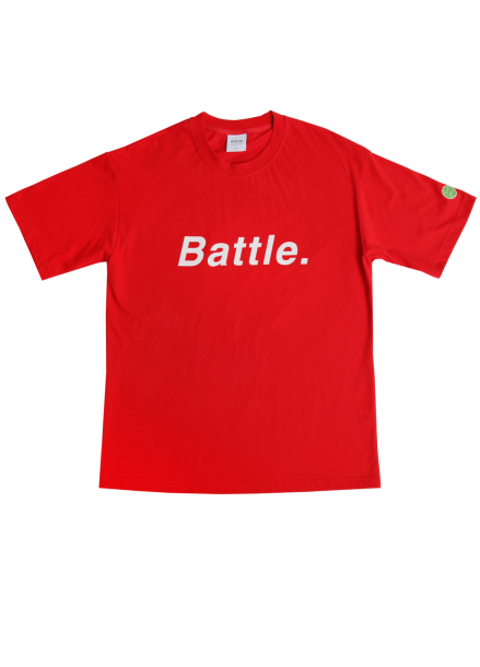 [★시즌오프30%할인/ATICLE]BATTEL SCOTCH REFLECTIVE T-SHIRT (Red)