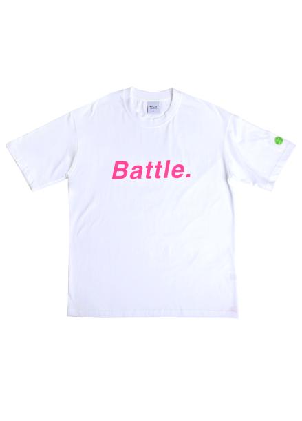 [★시즌오프30%할인/ATICLE]BATTEL SCOTCH REFLECTIVE T-SHIRT (White)