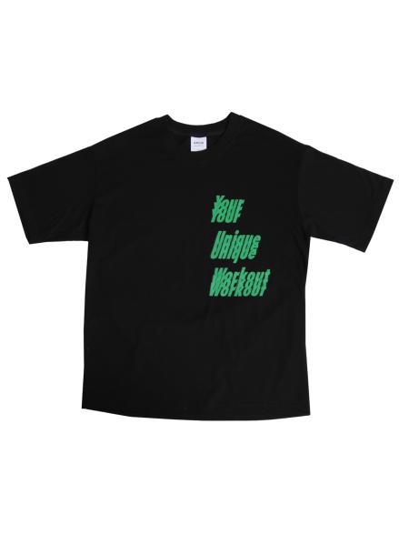 [★시즌오프30%할인/ATICLE]YOUR UNIQUE WORKOUT GRAPHIC T-SHIRT (Green)