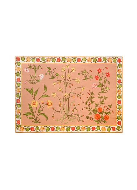 [& MIX] Garden Rose Tablemat 2 Set