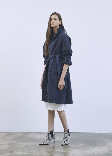 [Special price]Stitch Point Trenchcoat