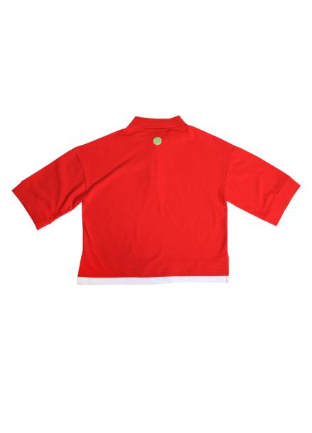 [ATICLE] PLAY TENNIS PK T-SHIRT (Red)
