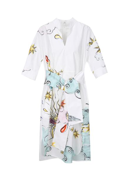 Unique illustration  Dress