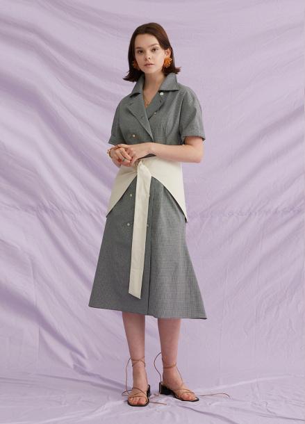 [jchung] Hip Skirt Belt Dress