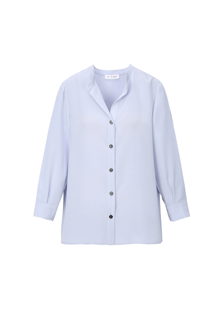China Collar Simple Blouse