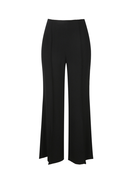 Semi Bootscut Back Zipper Pants