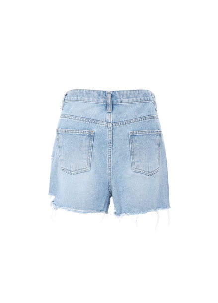 [20%할인/COMING STEP]Cutting Short Denim Pants