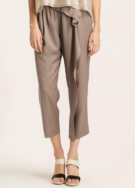 [10%할인/CAHIERS]Ruffled pants