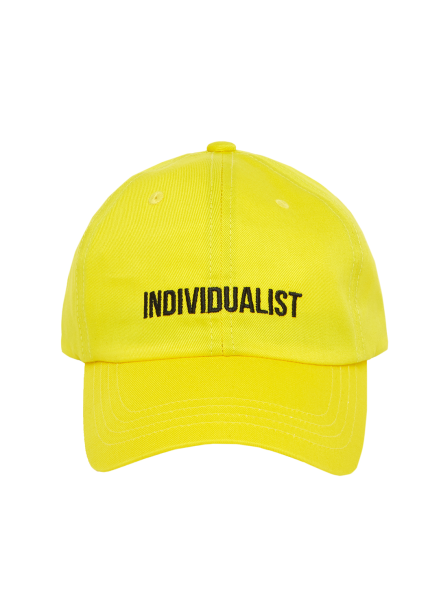 [MSKN2ND]INDIVIDUALIST BALL CAP YELLOW