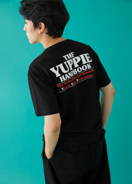 [MSKN2ND]YUPPIE SS T-SHIRT BLACK
