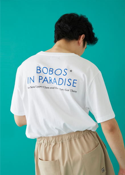 [MSKN2ND]BOBOS SS T-SHIRT WHITE