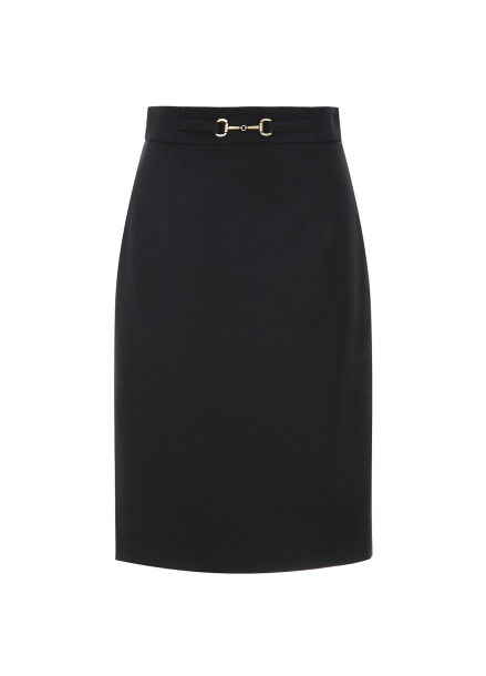 Belt Point H-Line Skirt