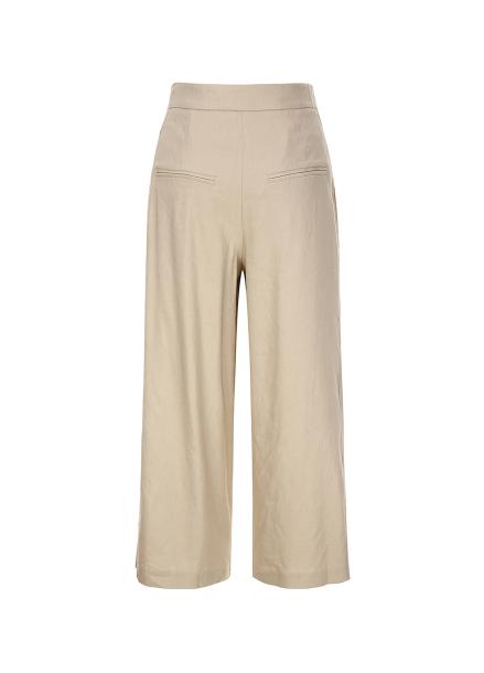[30%할인/COMING STEP]Linen Semi Wide Slacks Pants