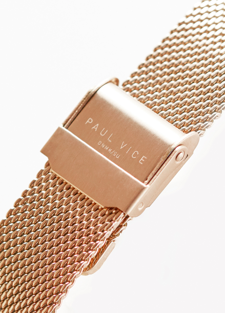 [Paul Vice] Emma Collection Black - Rosegold