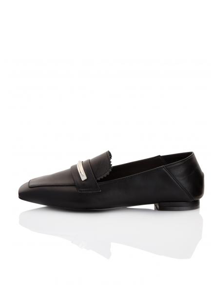 [10%할인/Meiel Dew] Mule loafers Black