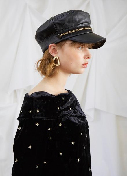 [5%할인/SALON DE YOHN] Black Matroos Hat