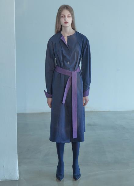 [5%할인/THE STUDIO K]18FW COLOR DRESS_NAVY