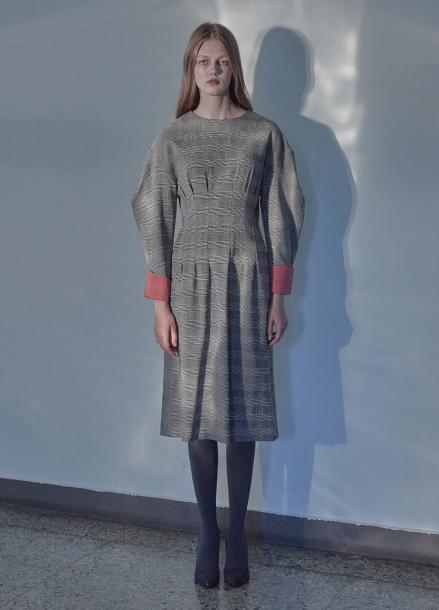 [5%할인/THE STUDIO K]18FW GLEN CHECK DRESS