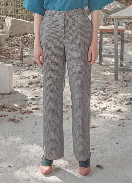 [5%할인/THE STUDIO K]18FW STRAIGHT PANTS_GREY