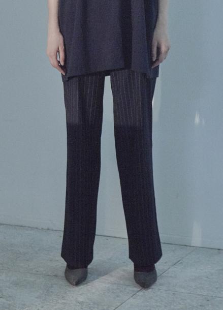 [5%할인/THE STUDIO K]18FW STRAIGHT PANTS_NAVY