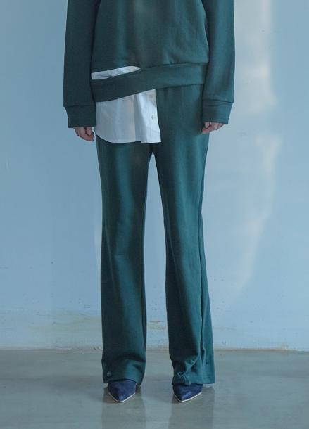 [5%할인/THE STUDIO K]18FW STRING PANTS_GREEN