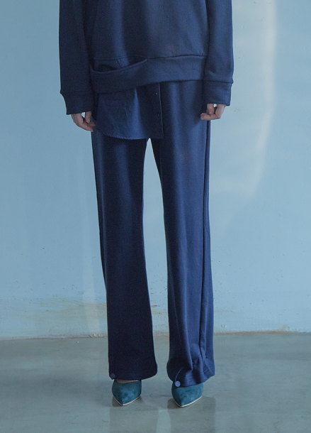 [5%할인/THE STUDIO K]18FW STRING PANTS_NAVY