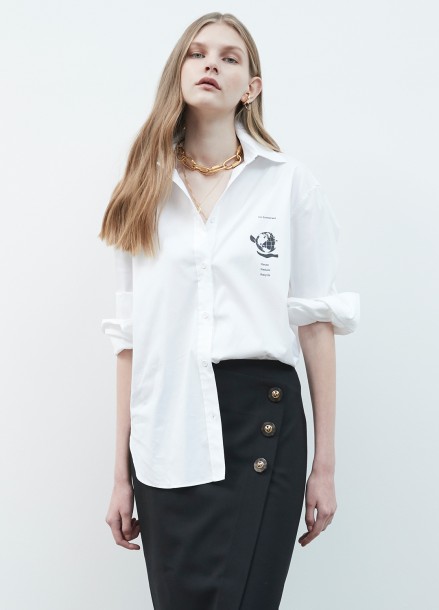Pocket Point Blouse