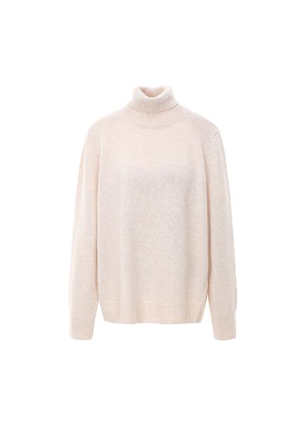Wool Blended Basic Pullover