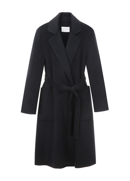 Big Pocket Wool Coat