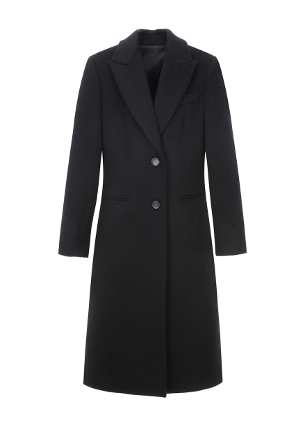 Slim Fit Cashmere Tailored Coat