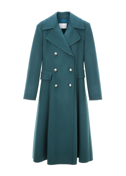 Princess Line Wool Double Coat