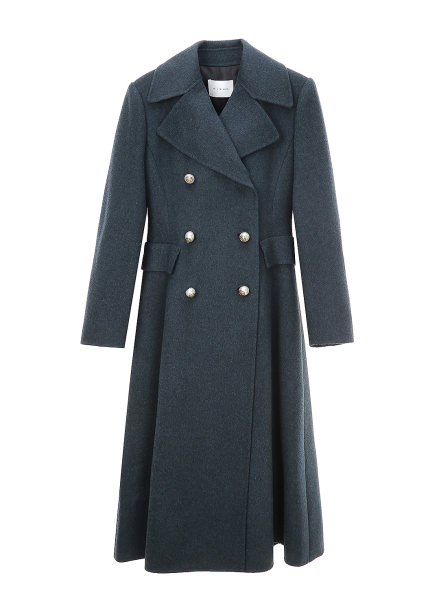 Princess Line Wool Blended Double Coat