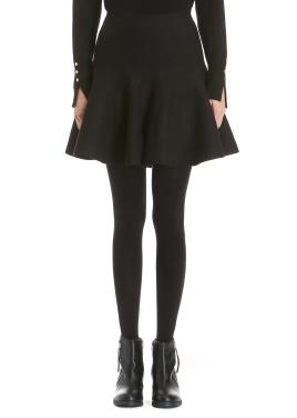 Peplum Mini Skirt