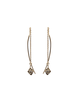 [AITCH AREN] Lozenge Drop Earring