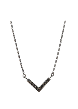 [AITCH AREN] Simple Buffalo Necklace