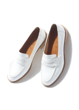 [w] Smart Loafer_Wite Bx
