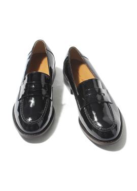 [W]Smart Loafer_Black Faint