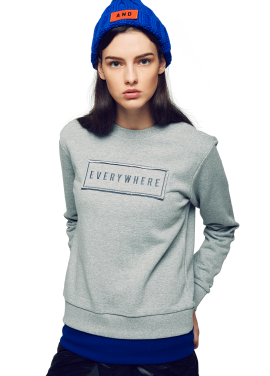 [ATICLE/50%SALE]Wappen Point Slim Sweatshirt
